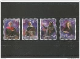 GIBRALTAR 2009 - YT N° 1333/1336 NEUF SANS CHARNIERE ** (MNH) GOMME D'ORIGINE LUXE - Gibraltar