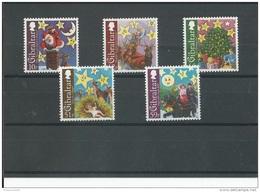 GIBRALTAR 2008 - YT N° 1303/1307 NEUF SANS CHARNIERE ** (MNH) GOMME D'ORIGINE LUXE - Gibraltar