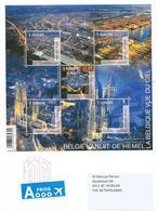 Belgium Belgie 2018 Roeselare Atomium Harbour Railway Station Calatrava Architect Block Cover - Cartas