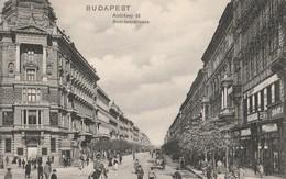 BUDAPEST  -  Andrassy Ut  - Andrassystrasse - Hongrie