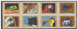 Aruba 2013 Oerwouddieren Frog Tiger Parrot Monkey Panther Tukan MNH - Curaçao, Nederlandse Antillen, Aruba