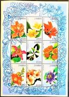 Zambia 1998** Klb.770-778. Flowers MNH [5;25] - Pflanzen Und Botanik
