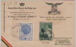 V°  COUPE  GORDON  BENNEIT  20-06-1937 - Belgium