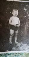 Summer - Kindergarten - Pretty Boy - Old Original Photo  - Soviet Childhood - Little Boy 1965 - Personnes Anonymes