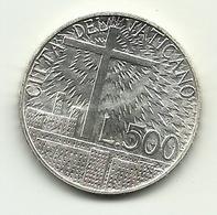 1991 - Vaticano 500 Lire - Dottrina - Vaticano