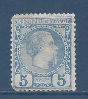 Monaco - YT N° 3 - Neuf Avec Charnière - 1885 - Monaco