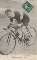 CYCLISME  -  Léon GEORGET  -  Routier Français - Ciclismo