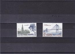 ESPAGNE 1981  SITES Yvert PA 298-299 NEUF** MNH - 1931-Aujourd'hui: II. République - ....Juan Carlos I
