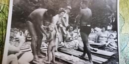 Soviet Beach - Petit Garçon Nu - Young Naked Boy - Vintage Photography 1960s Old USSR Photo - Photographs