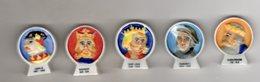 Série 5/9 Fèves Brillantes LES ROIS DE FRANCE Thibault BERGERON 1998 - History