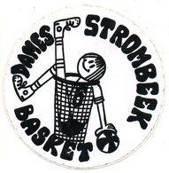 Sticker Autocollant Strombeek Dames Basket Basketbal Sport Reclame Publiciteit Publicité Publiciy - Sport