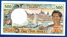 Nouméa  -  500 Francs  -  état  TB+ - Nouvelle-Calédonie 1873-1985