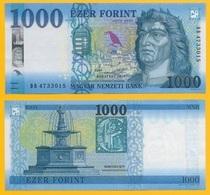 Hungary 1000 Forint P-new 2018 UNC - Hongrie