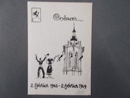 MILITARIA.GUERRE 39/45.COLMAR.LA 5ème DB N'OUBLIE PAS. - Guerre 1939-45