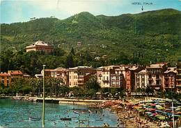 Gd Format: Env 15cms X 10cms -ref 280- Italie - Italia - Italy-  Hotel Italia - Santa Margherita Ligure - - Italy