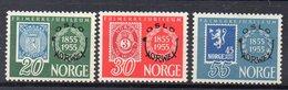 NORVEGE  Timbres Neufs ** De 1955  ( Ref 1002C ) Expo - Norwex - Norvège