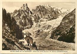 Gd Format: Env 15cms X 10cms -ref 277- Italie - Italia - Italy- Notre Dame De La Guerison - Gourmayeur - - Italy