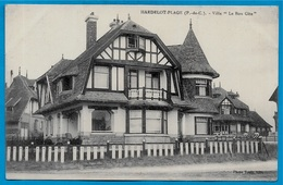 "CPA 62 HARDELOT-PLAGE - Villa ""LE BON GÎTE"" ° Photo Touly - France"
