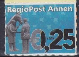 2001 PAYS-BAS Netherlands   REGIOPOST ANNEN  Regio Post ** MNH Cheval équitation Riding Horse Reiten Pferd Equita [be62] - Period 1980-... (Beatrix)