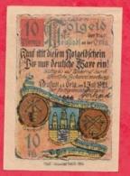 Allemagne 1 Notgel De 10 Pfenning Stadt Neustadt /Orla  UNC  N °2168 - Collections