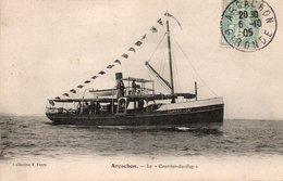 """ARCACHON-le """"Courrier Du Cap"""" - Arcachon"""