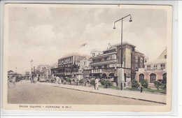 CURACAO - BRION SQUARE - ANIMEE - 12.05.37 - Cartes Postales