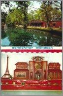 Berkenhof Bierbeek, Carnet 8 Mini Cartes , Réalisations En Allumettes Par J.Pardon - Bierbeek