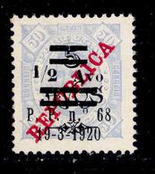 ! ! Timor - 1920 King Carlos 1/2a (Perf. 11 1/2) - Af. 191 - NGAI - Timor