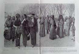 Illustrations De Louis SABATTIER  Elégances Jeunes Turques  (Comment Les Jeunes Femmes De La Turquie Nouvelle...) 1912 - Collections