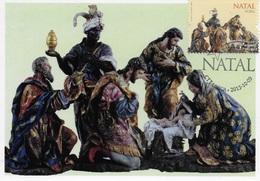 CARTE MAXIMUM - MAXIMUM KART - MAXIMUM CARD - PORTUGAL - ARGILE - ADORATION DES MAGES - XVIII SIÈCLE - LISBONNE - Noël
