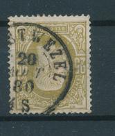799/27 - Cachet Double Cercle (WUE)STWEZEL 1880 Sur TP 32 - COBA 30 EUR - 1869-1883 Leopold II