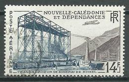 Nouvelle Calédonie Poste Aérienne YT N°66 Transbordeur De Minerai De Nickel Oblitéré ° - Luftpost