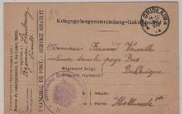 C.P. PRISONNIER  CACHET  ALLEMAND  DATE 1915 - Belgique