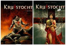 Lombard Kruistocht: Simoen Dja + Vuursnavels (Dufaux Xavier) 2008/2009 - Books, Magazines, Comics