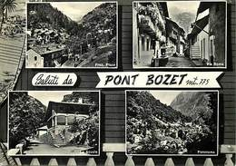 Gd Format: Env 15cms X 10cms -ref 262- Italie - Italia - Italy-  Saluti Da Pont Bozet  - Carte Bon Etat - - Italia
