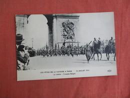 WW1 Victory Parade  14 July 1919  Paris  Ref 3101 - War 1914-18