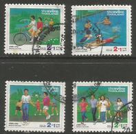 Thailand - 1991 Sports Welfare Used   Sc B74-7 - Thailand