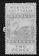Western Australia Fiscaux Postaux N°7 - Neuf * Avec Charnière - B/TB - 1854-1912 Western Australia