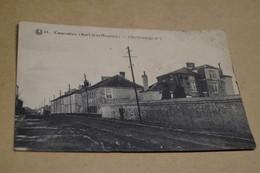 Courcelles Sart-Lez-Moulins,Charbonnage N° 1,mine,superbe Carte Originale,ancienne - Courcelles