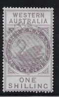Western Australia Fiscaux Postaux N°10 - Oblitéré - TB - 1854-1912 Western Australia