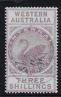 Western Australia Fiscaux Postaux N°12 - Oblitéré - TB - 1854-1912 Western Australia
