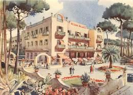 Gd Format: Env 15cms X 10cms -ref 254- Italie - Italia - Italy- Illustrateurs - Illustrateur -hotel Regina Palace Ischia - Italy