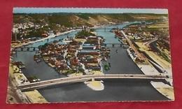 76 - Rouen -L'Ile Lacroix Et Le Nouveau Pont Sur La Seine - Vue Aérienne ----------- 481 - Rouen