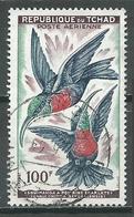 Tchad Poste Aérienne YT N°3 Oiseaux Souimangas à Poitrine écarlate Oblitéré ° - Tchad (1960-...)