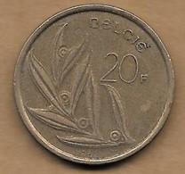 20 Francs 1982 FL - 1951-1993: Baudouin I