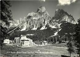 Gd Format: Env 15cms X 10cms -ref 247- Italie - Italia - Italy- Passo E Grand Hotel Tre Croci - M Cristallo  - - Italy