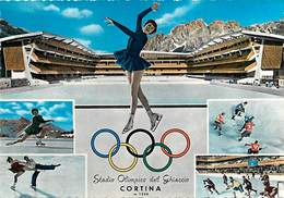 Gd Format: Env 15cms X 10cms -ref 246- Italie - Italia - Italy- Sports D Hiver - Jeux Olympiques - Cortina   - - Italy