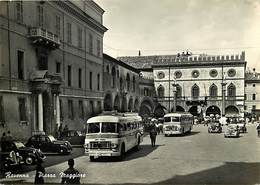 Gd Format: Env 15cms X 10cms -ref 245- Italie - Italia - Italy- Ravenna - Piazza Maggiore - Bus Autobus -carte Bon Etat- - Italy