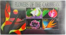 Bequia 2005** Klb.446-49. Flowers Of The Caribbean MNH [5;48] - Pflanzen Und Botanik