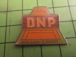 412d Pins Pin's / Rare & De Belle Qualité  THEME : BANQUES / BNP TENNIS ROLAND-GARROS - Banks